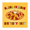Nacho Average Birthday - Birthday Card