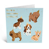 Birthday Dogs Card