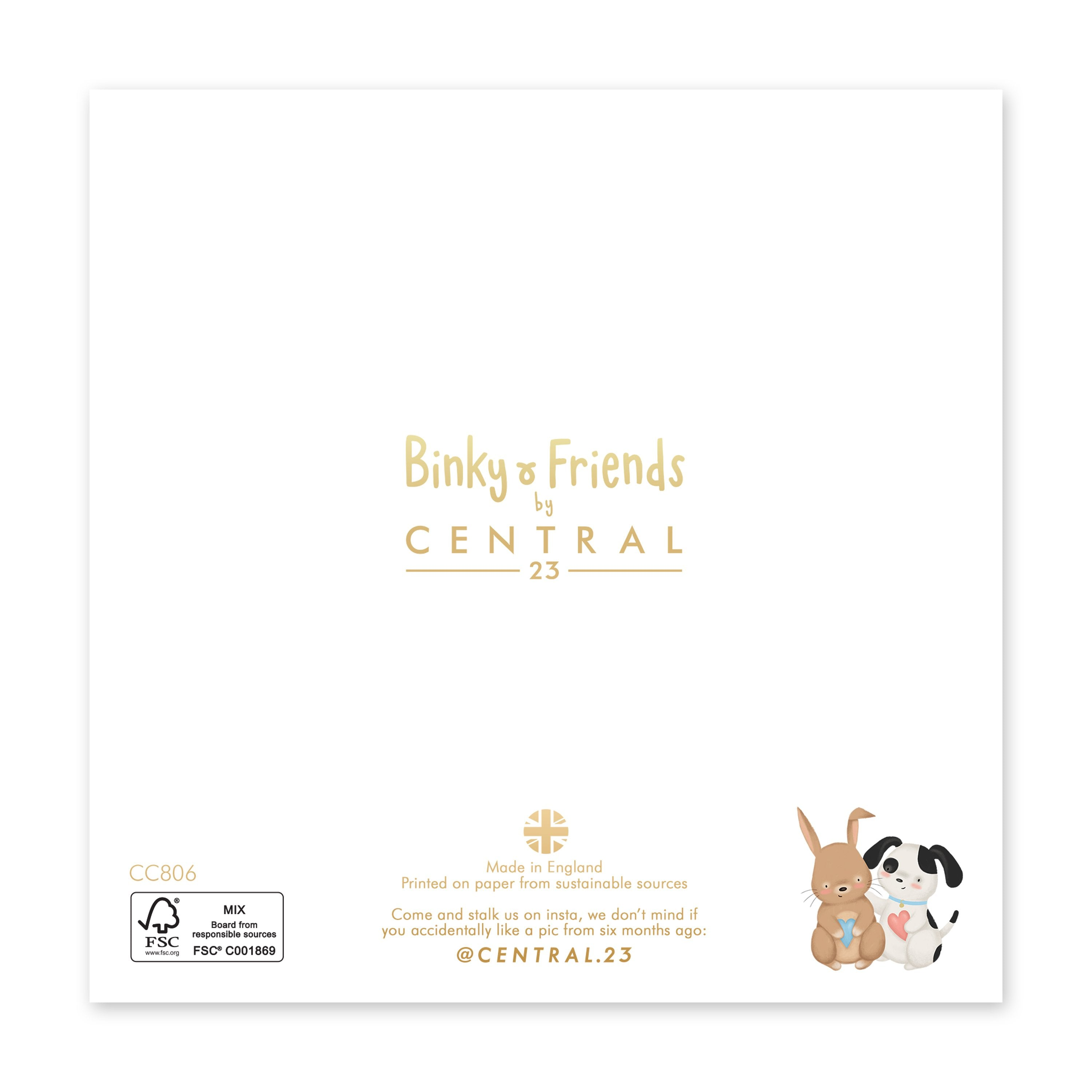 Percy And Binky Friendship Card