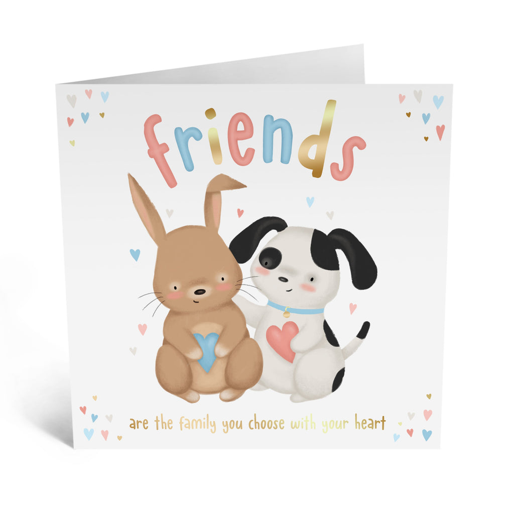 Percy And Binky Friendship Card - US
