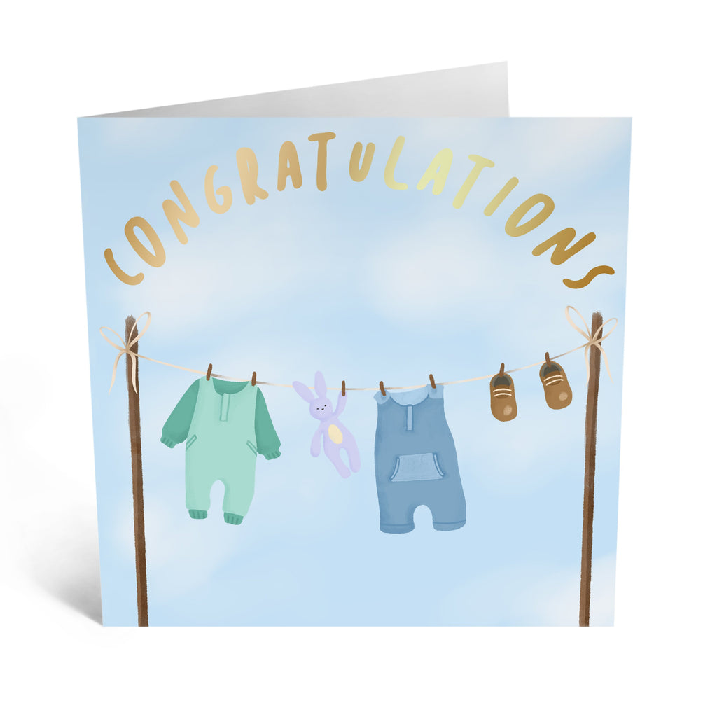 Congratulations New Baby Card - US