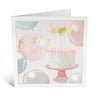 Elegant Cake Birthday Card