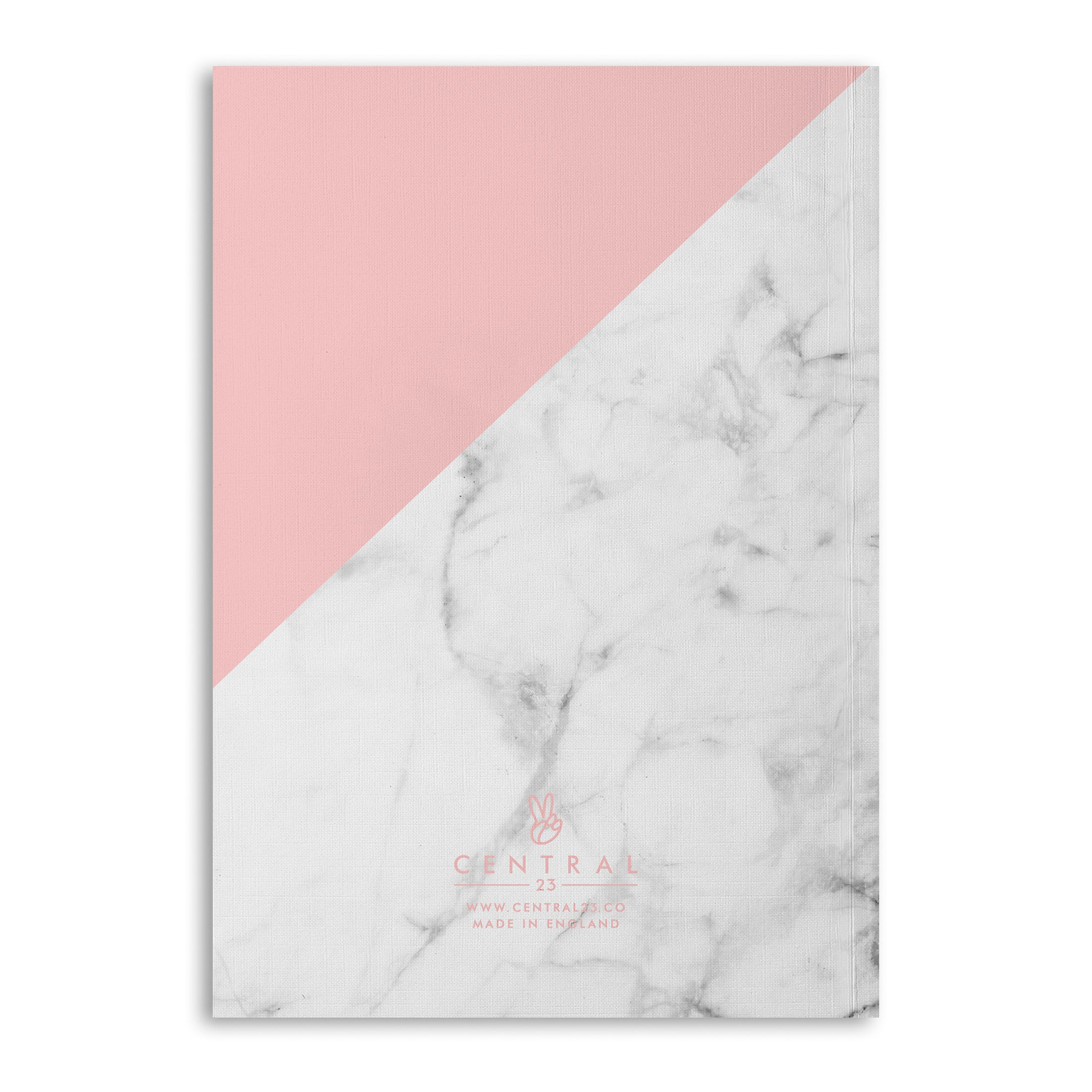 Marble Yes You Can Lined A5 Notebook