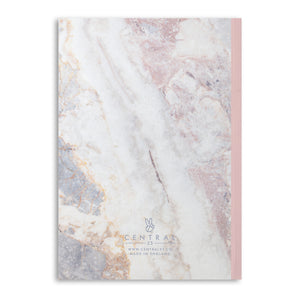Marble Dream Big Lined A5 Notebook (120 Pages)