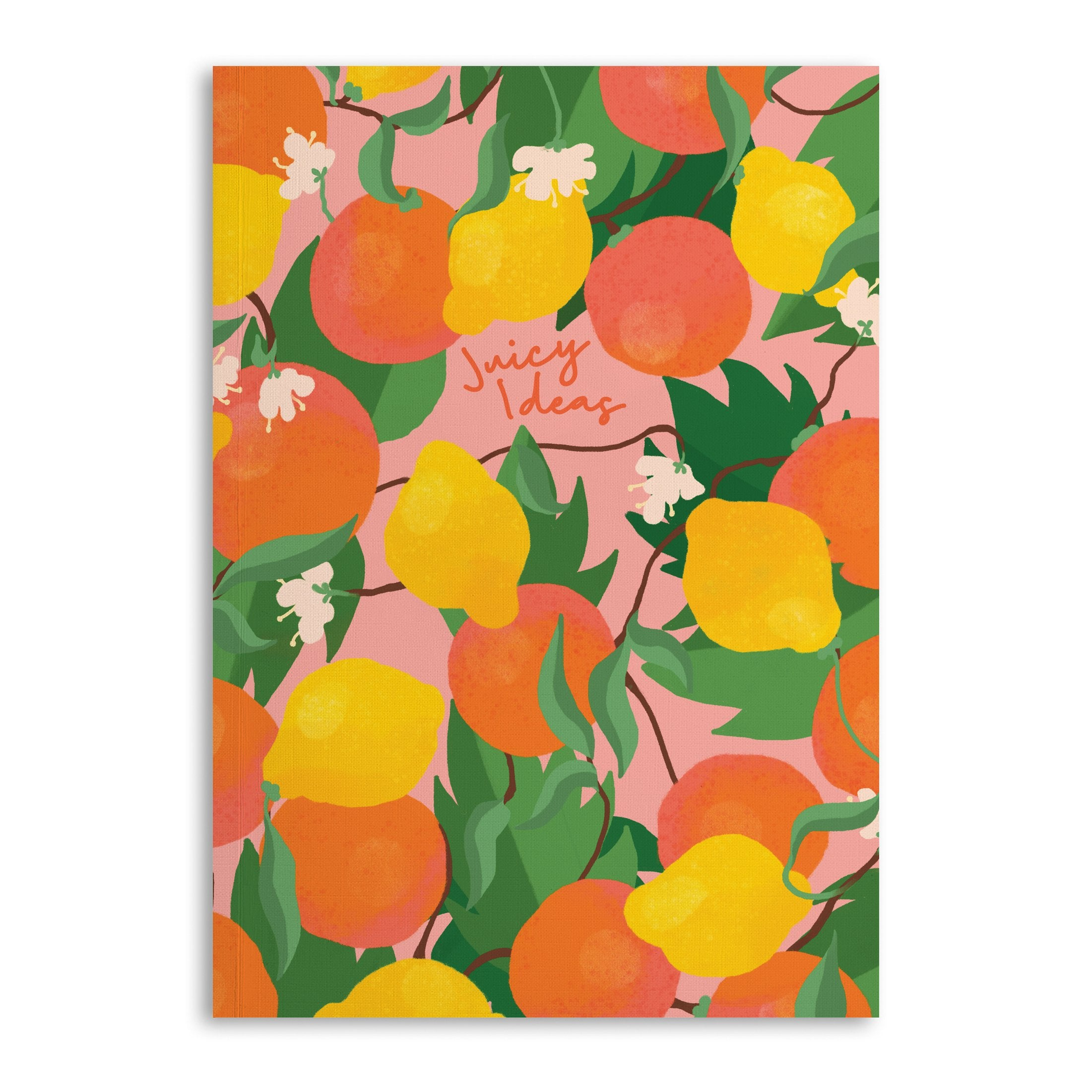 Fruitylicious Notebooks (Pack Of 3 - 120 Pages)