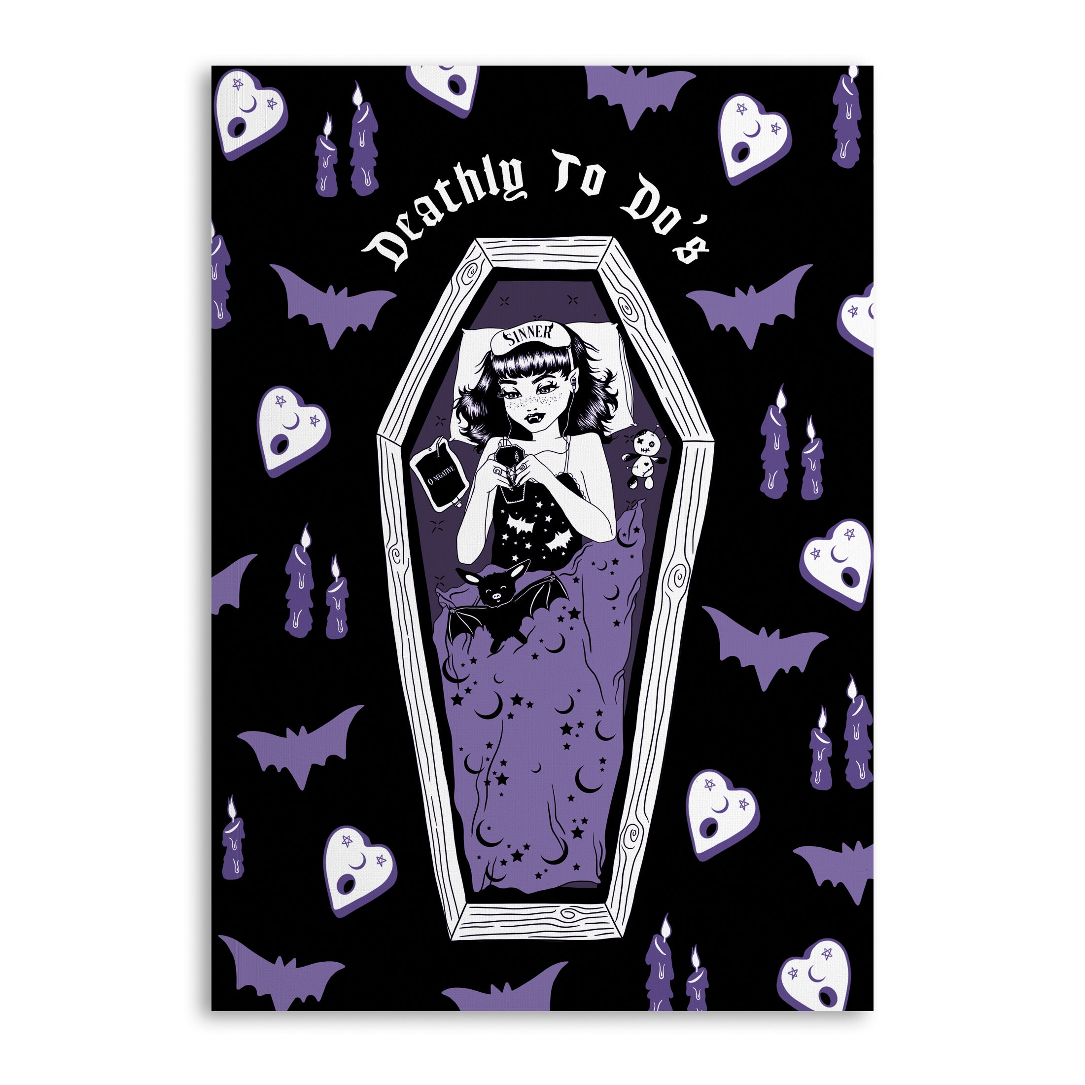Deathly To Do's A5 Lined Notebook (120 Pages)