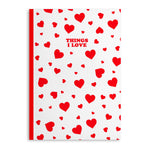 Load image into Gallery viewer, Love Heart Notebooks (Pack Of 2 - 120 Pages)