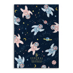Load image into Gallery viewer, Celestial Notebooks (Pack Of 4 - 120 Pages)