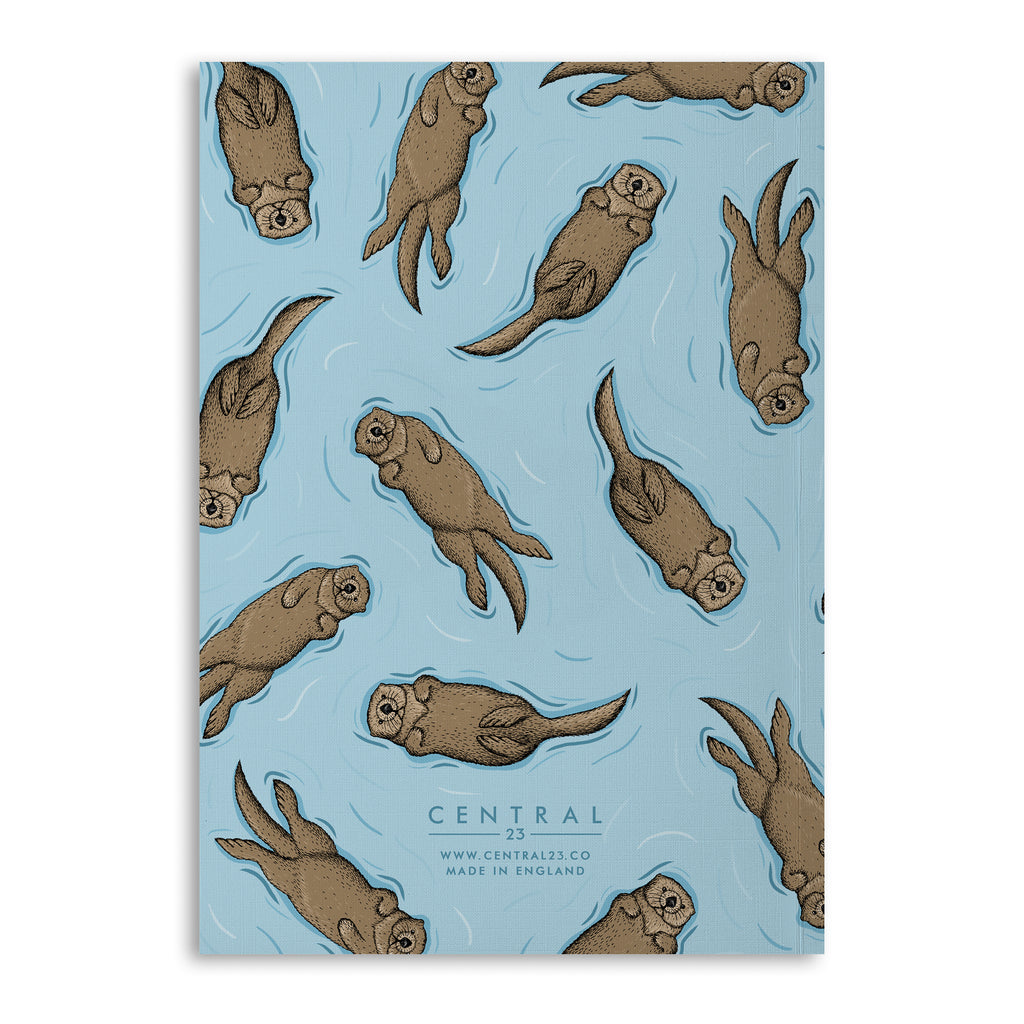 Otter Jotter A5 Lined Notebook (120 Pages)