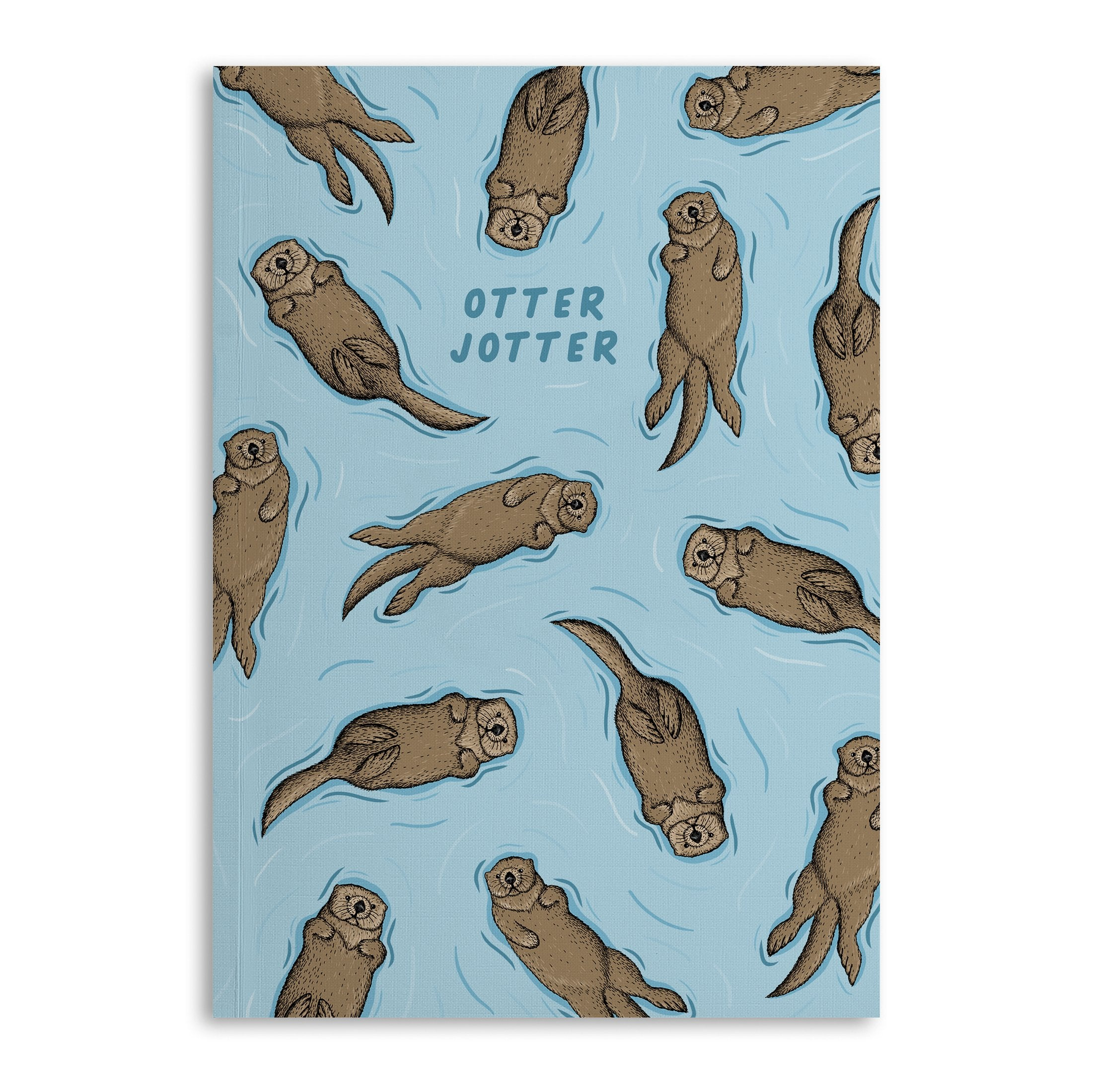 Otter Jotter A5 Lined Notebook - US