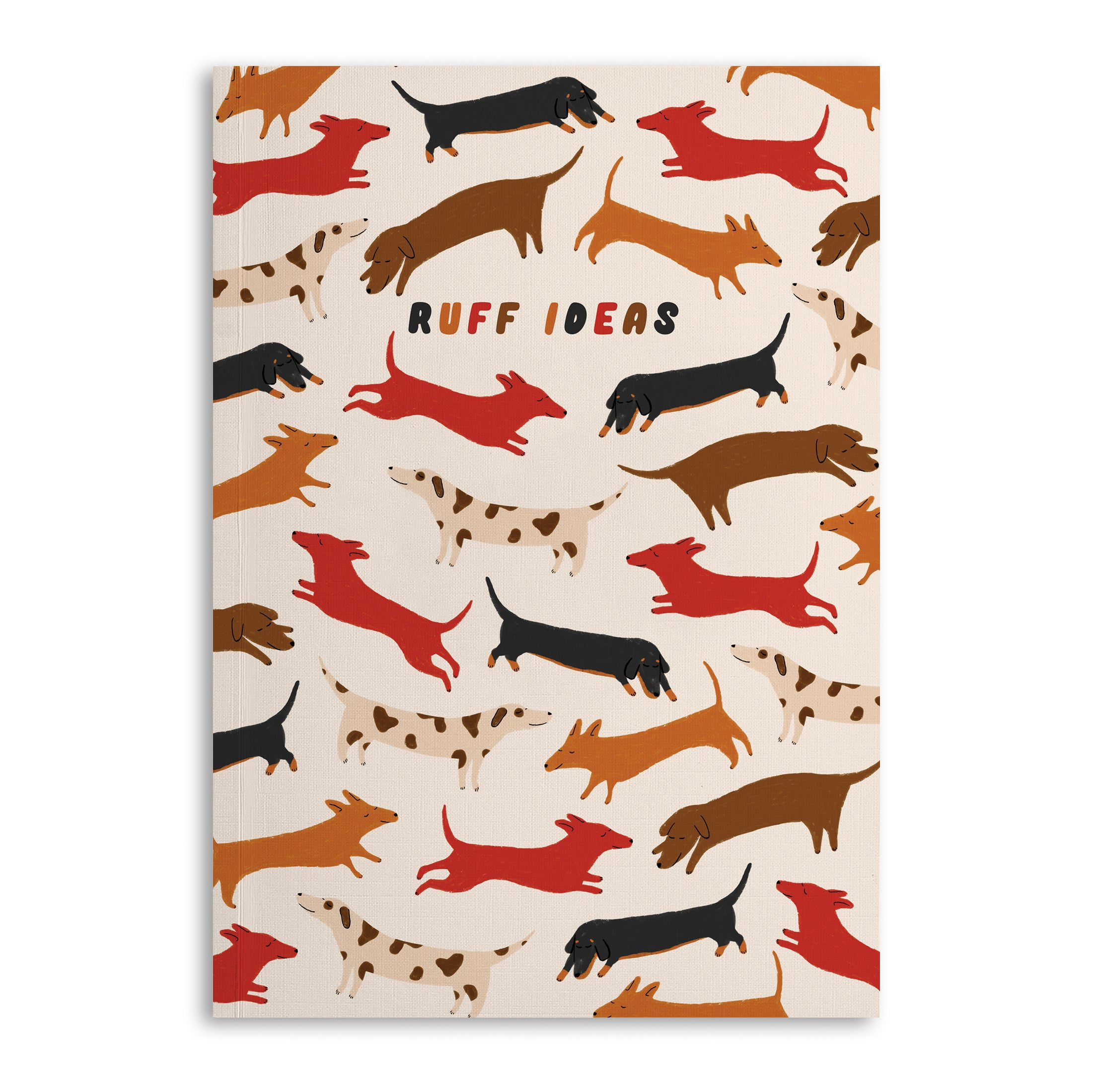 Ruff Ideas A5 Lined Notebook (120 Pages)