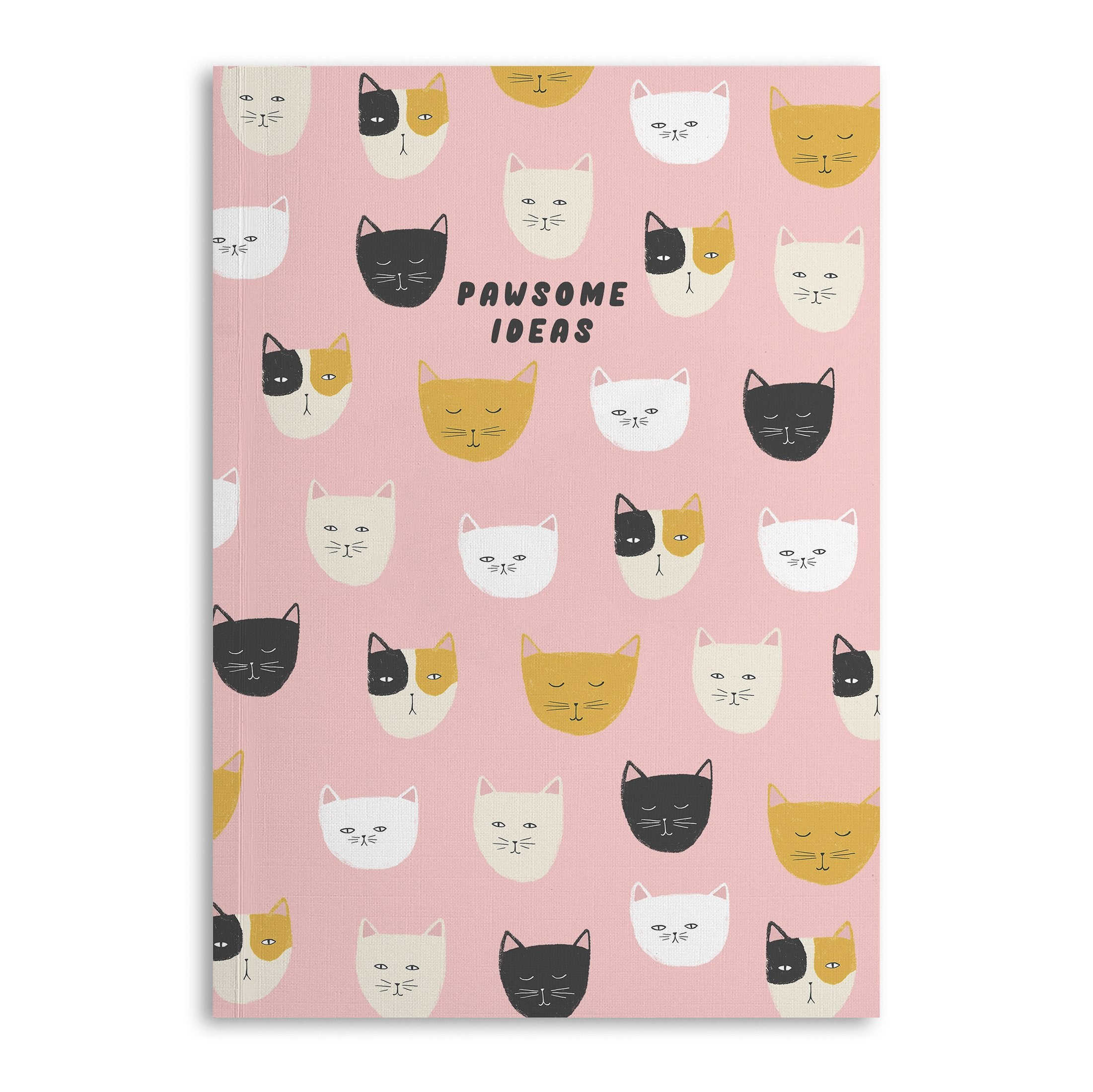 Pawesome Ideas A5 Lined Notebook - US