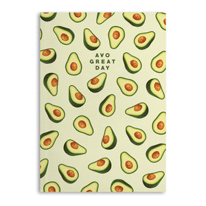 Avo Great Day Lined A5 Notebook (120 Pages)