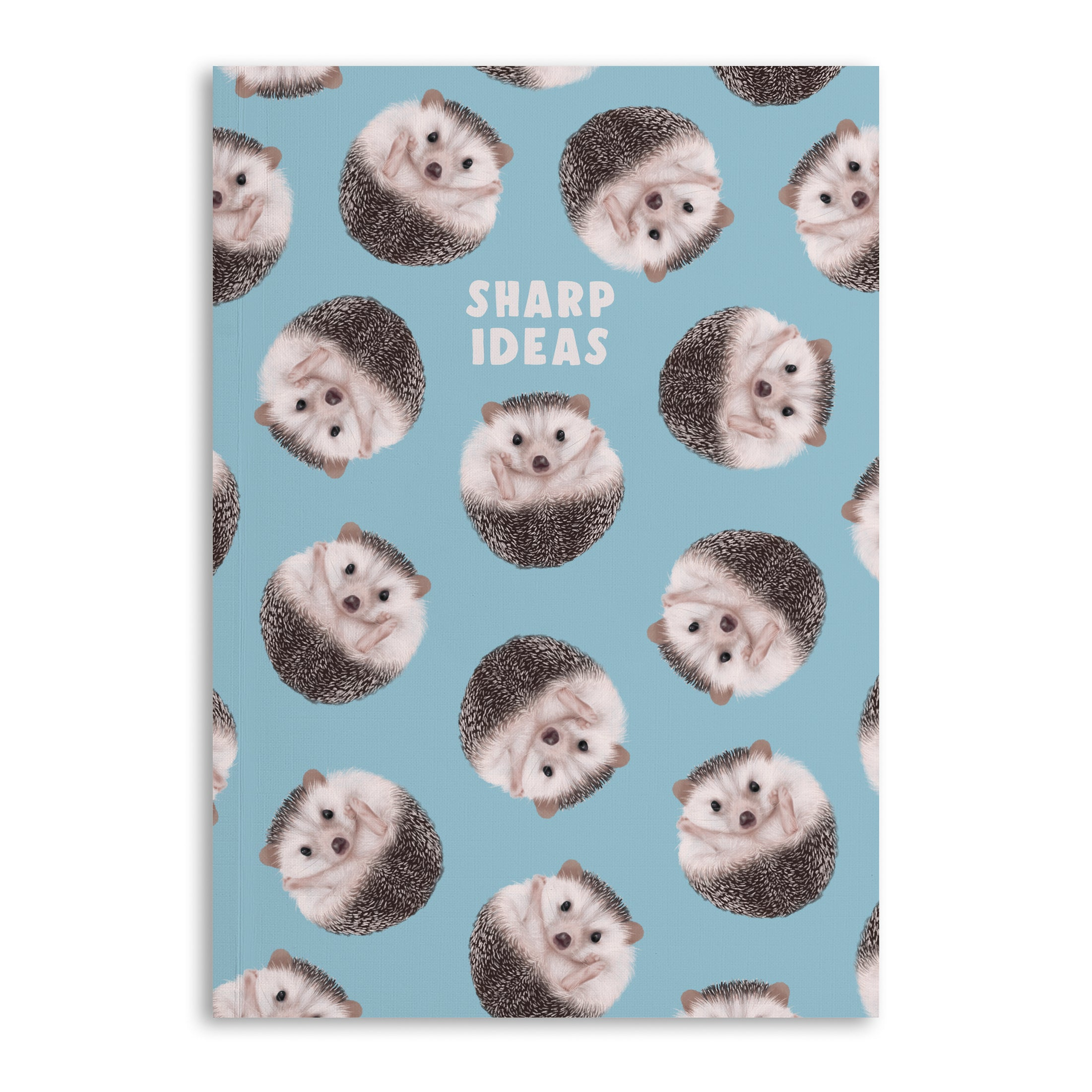 Hedgehog 'Sharp Ideas' A5 Lined Notebook (120 Pages)