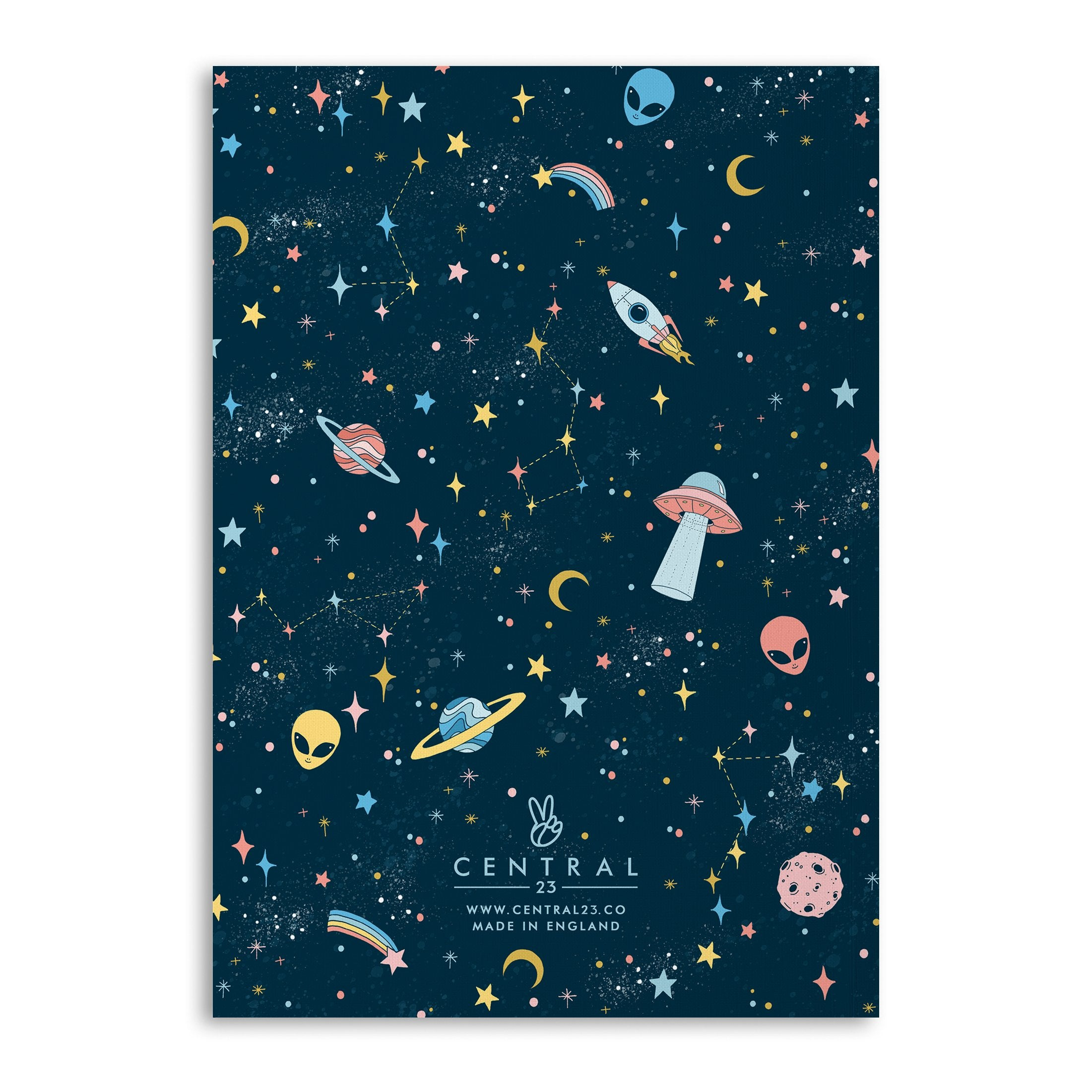 Celestial Notebooks (Pack Of 4 - 120 Pages)