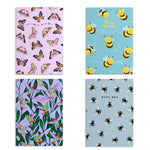 Load image into Gallery viewer, Flying Animal Notebooks (Pack Of 4 - 120 Pages)