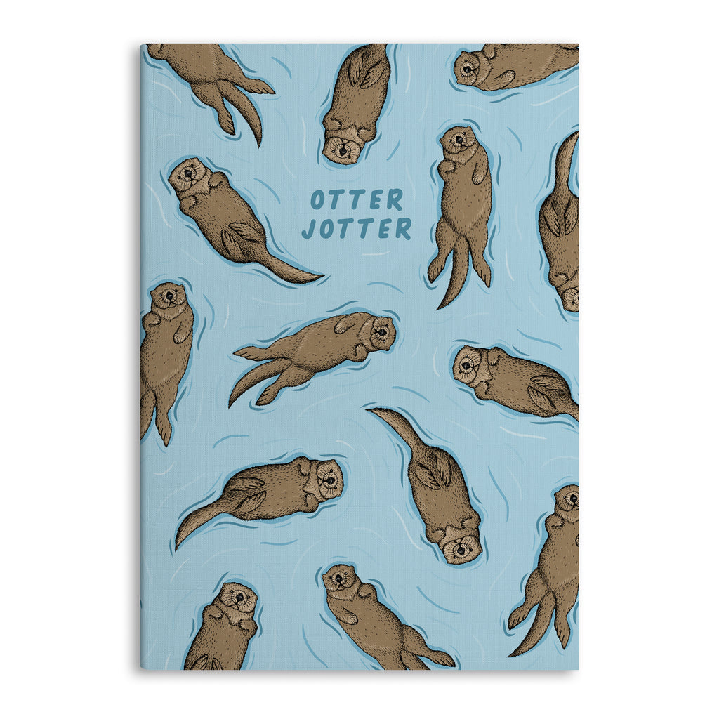 Otter Jotter A5 Lined Notebook (80 Pages)