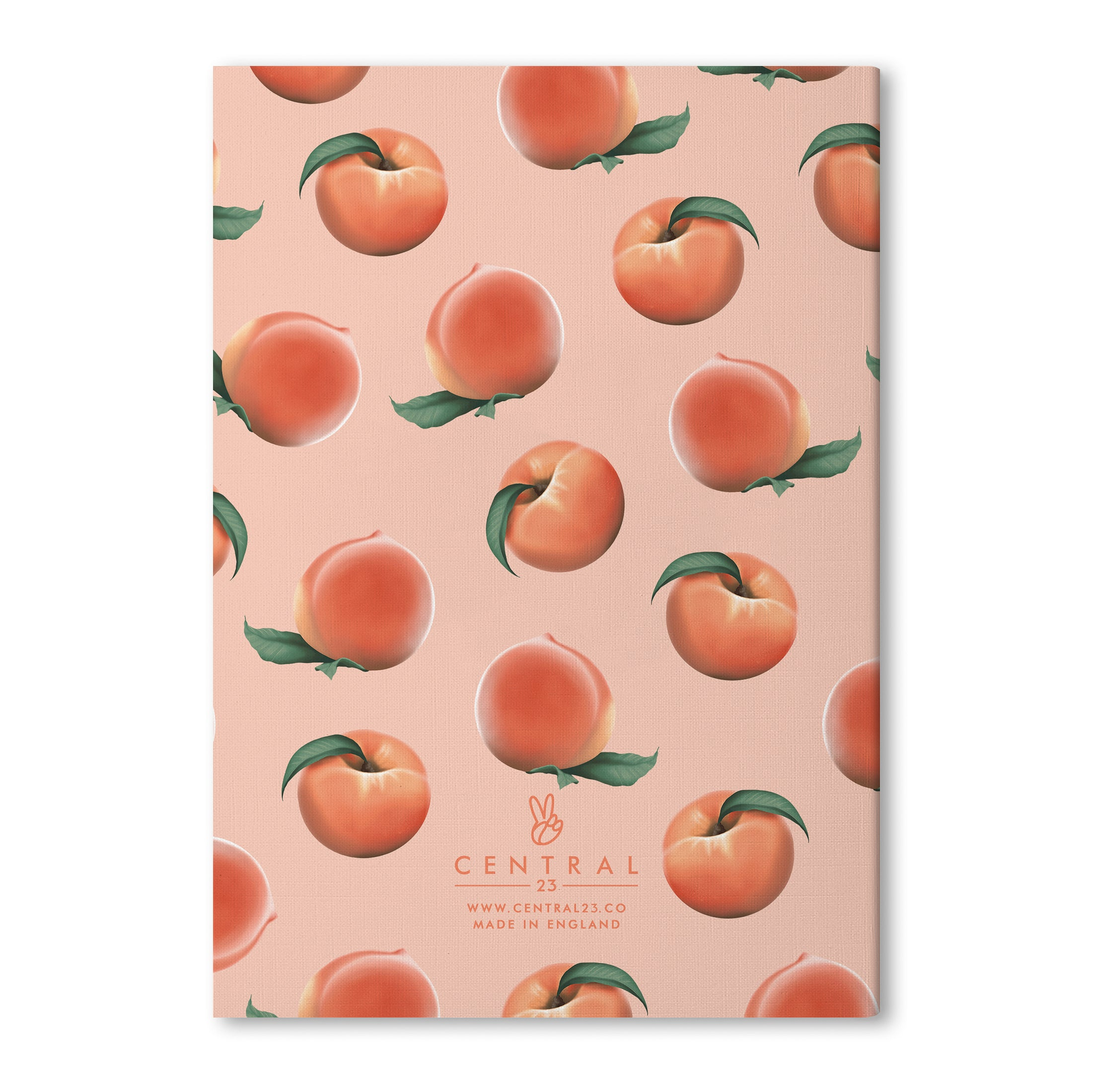 Feeling Peachy A5 Lined Notebook (80 Pages)