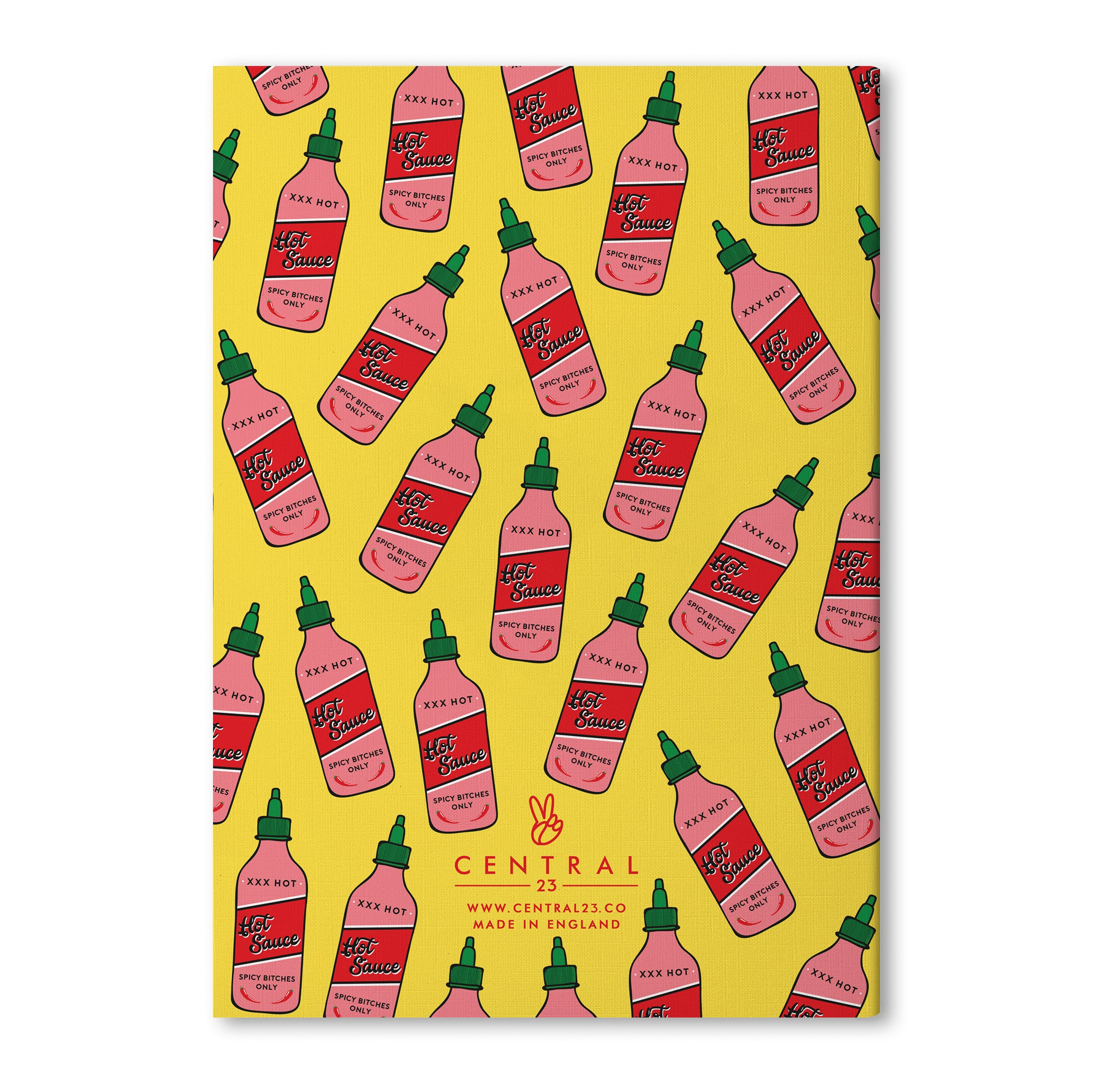 Spicy Ideas A5 Lined Notebook (80 Pages)