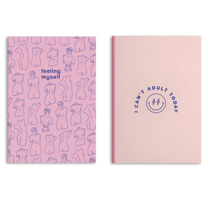 Self Care Notebooks (Pack Of 2 - 80 Pages)
