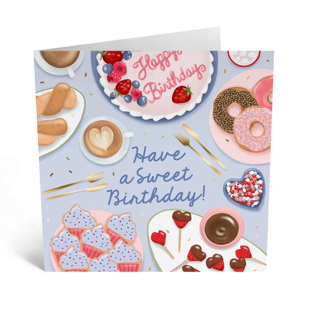 Sweet Treats Birthday Card - US