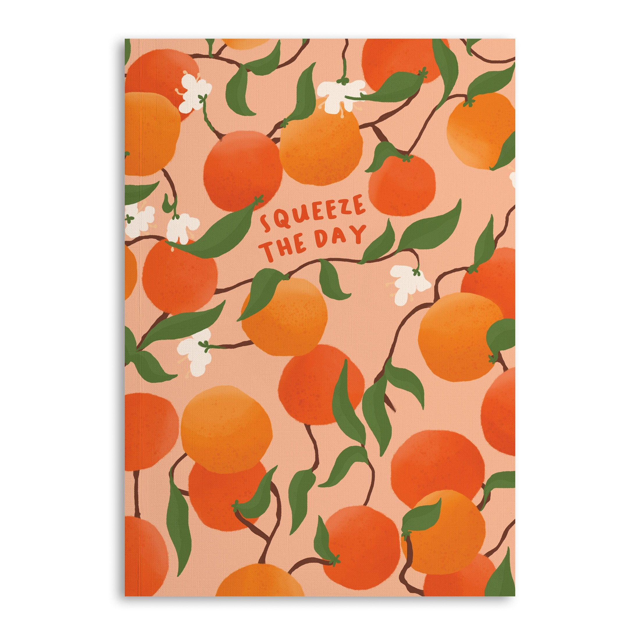 Squeeze The Day A5 Notebook