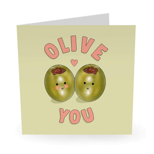 Olive You Love / Anniversary Card