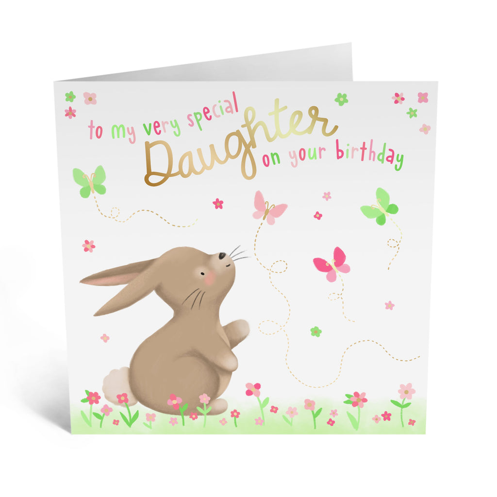Happy Birthday Daughter Card - US