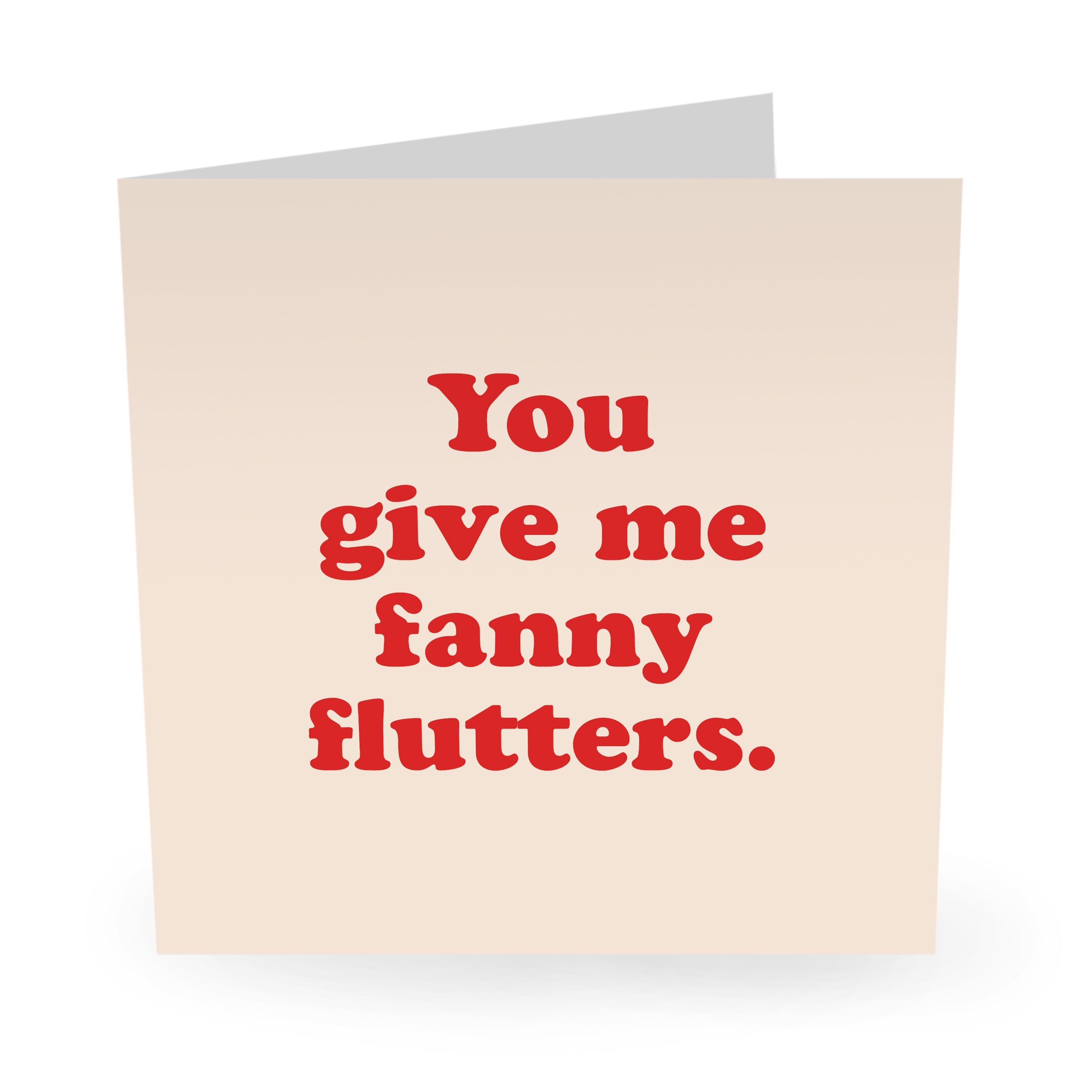 Fanny Flutters Love / Anniversary Card