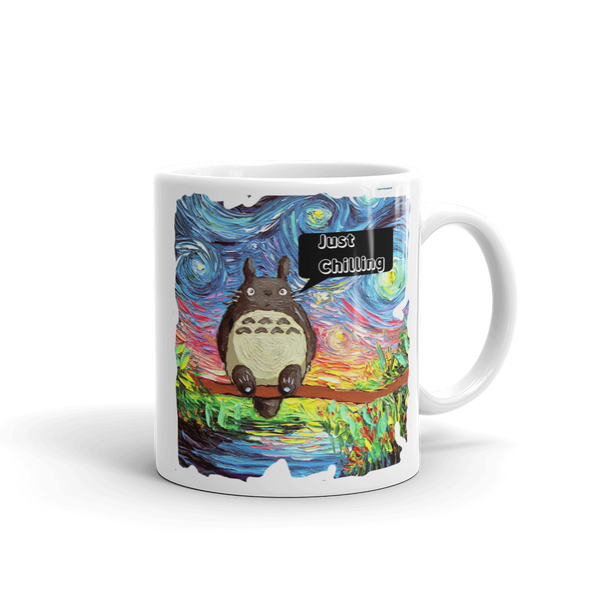 "Totoro Mug ""Just Chilling"""
