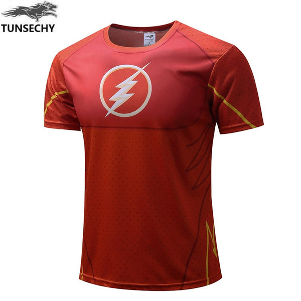 The Flash Fitness men t shirts