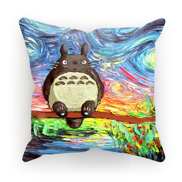 Totoro stary night cushion