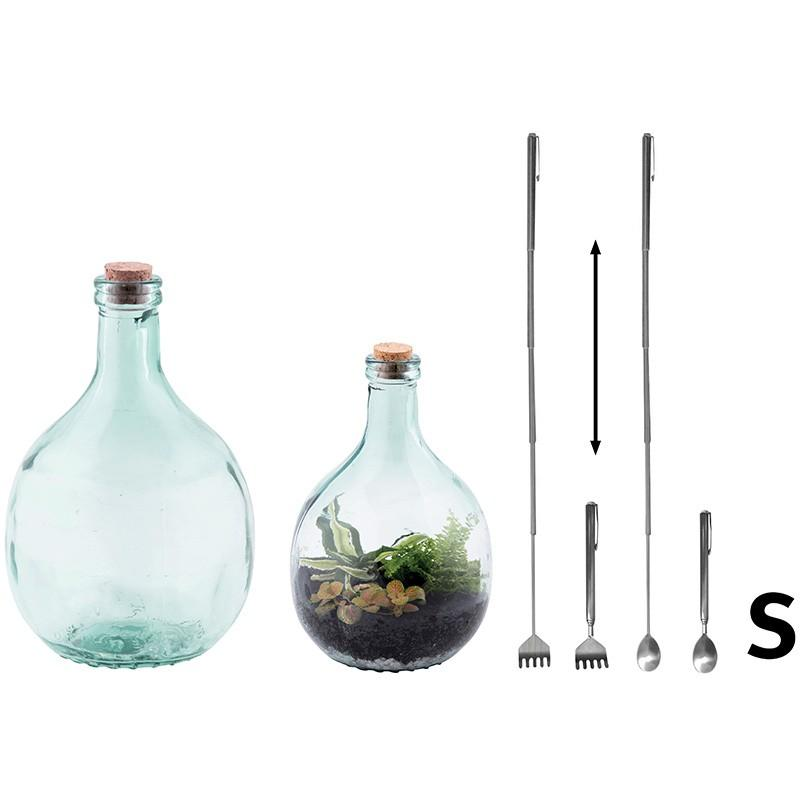 Terrarium kit with toolkit