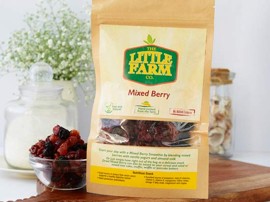 Dried Mixed Berry