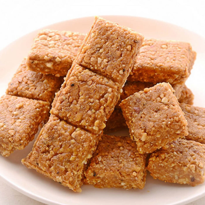 Sp. Crush Groundnut Chikki (With Butter & Cardamon)