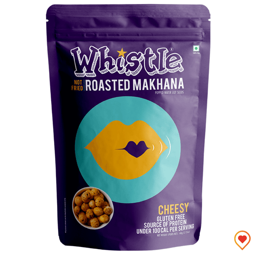 Whistle Cheesy Makhana