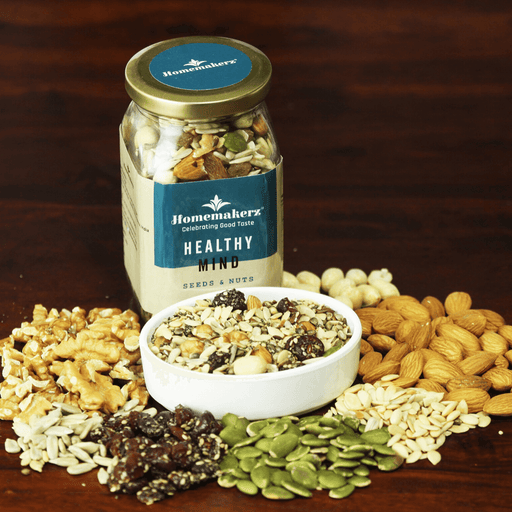 Homemakerz Healthy Mind Seeds & Nuts