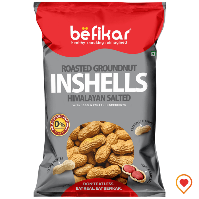 Roasted Groundnuts Inshells - Himalayan Salted