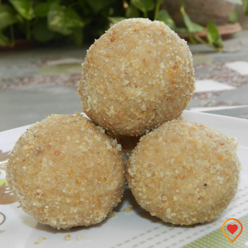 Churma Laddu (Desi Ghee), 500g