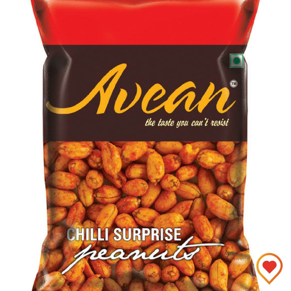 Chilli Surprise Peanuts-(400 g, Pack of 4)