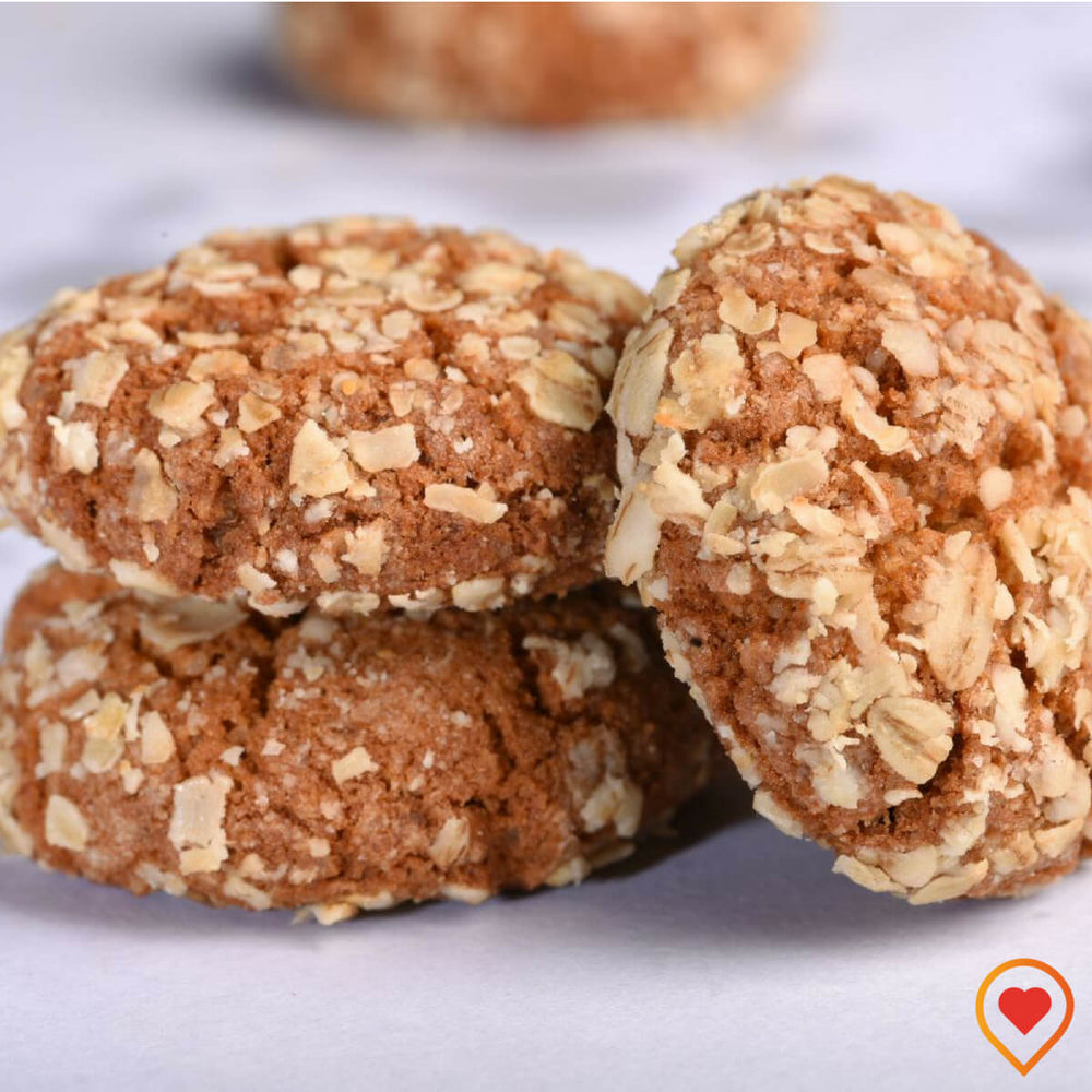 Whey Protein Oats Cookies