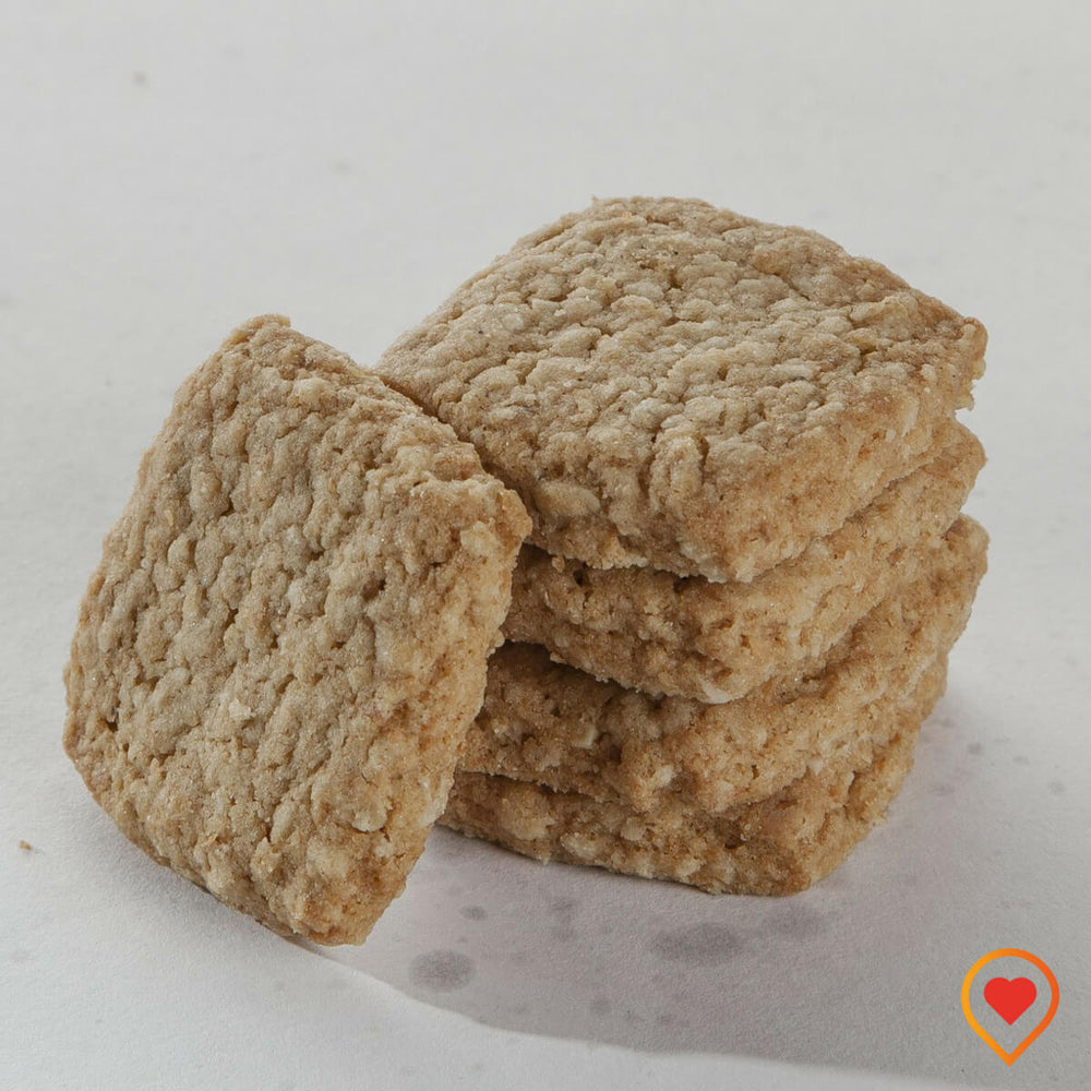 Low Calorie  Zero added sugar oats biscuit