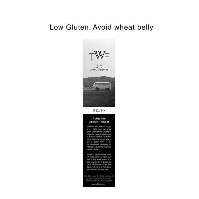 Reliq Flour - Ancient/Heirloom Wheat Atta