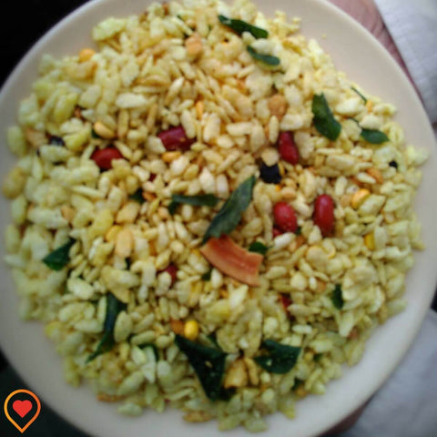 Premium Bhajke (Roasted Rice Flakes) Poha Chivda