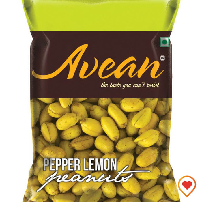 Lemon Pepper Peanuts-(400 g, Pack of 4)