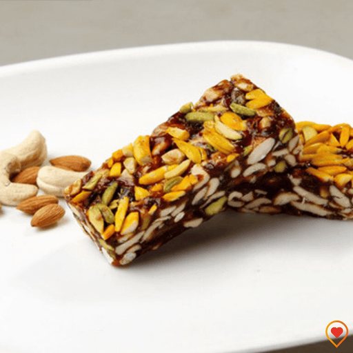 Dry Fruits Katli (Golden Energy Bar)