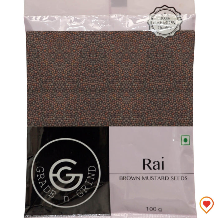 Rai (Brown Mustard Seeds)
