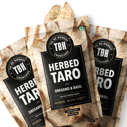 Herbed Taro Chips