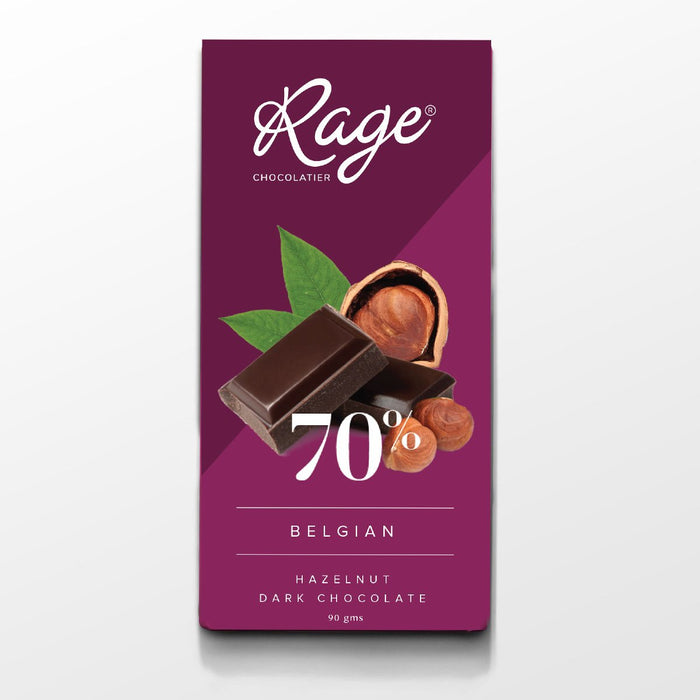 70% Dark Chocolate with Hazelnuts
