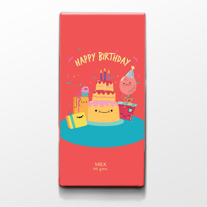 Happy Birthday Card bar